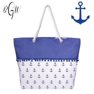 Handbags - 5🌟Tote/Bag with Blue Anchor
